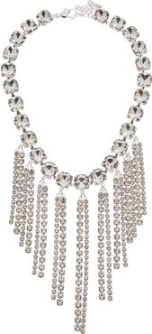 Kenneth Jay Lane Rhodium Plated Resin Necklace