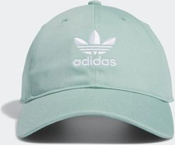 Relaxed Strap-Back Hat Light Green