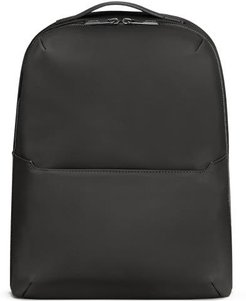 The Small Zip Backpack in Black