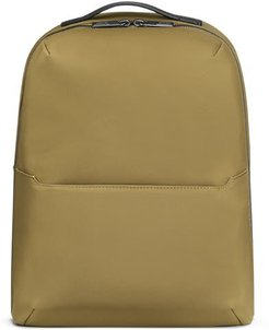 The Small Zip Backpack in Moss