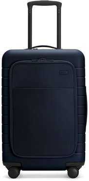 The Bigger Carry-On with Pocket in Navy - No Battery