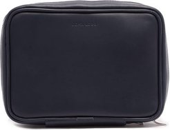Shoe Care Leather Travel Case - Mens - Navy