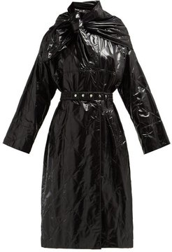 1952 - Canberra Diamond-quilted Coat - Womens - Black