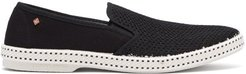 Classic Canvas Loafers - Mens - Black