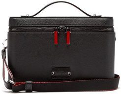 Kypipouch Leather Box Cross-body Bag - Mens - Black Multi