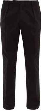 Nico Cotton Relaxed-fit Chino Trousers - Mens - Black