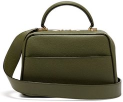 Serie S Medium Textured-leather Shoulder Bag - Womens - Khaki