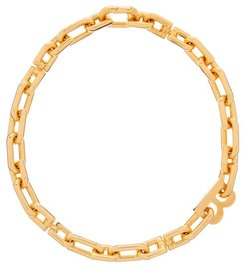 B-logo Chain-link Necklace - Womens - Gold