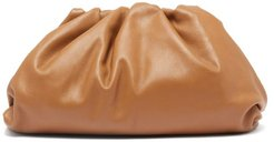 The Pouch Large Leather Clutch Bag - Womens - Tan
