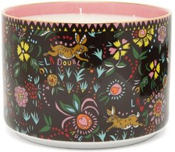 Babe Gilded-edge Scented Candle - Black Print