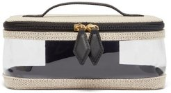 See All Canvas Vanity Case - Womens - Black Multi