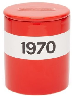 1970 Large Scented Candle - Red