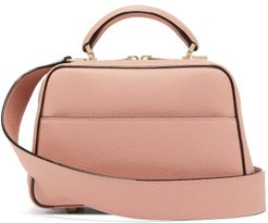 Serie S Small Grained-leather Bag - Womens - Light Pink