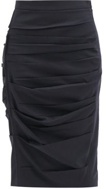 Calcina Skirt - Womens - Navy