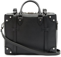 Gt Grained-leather Cross-body Bag - Mens - Black
