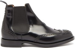 Ketsby Studded Leather Chelsea Boots - Mens - Black