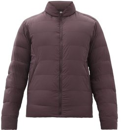 Conduit Ar Quilted Down Jacket - Mens - Purple