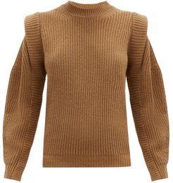 Bolton Wool And Cashmere-blend Sweater - Womens - Camel
