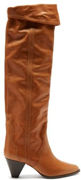 Remko Leather Over-the-knee Boots - Womens - Tan