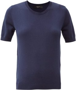 Cardato T-shirt - Womens - Navy