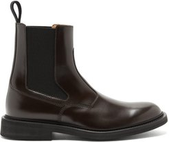 Leather Chelsea Boots - Mens - Brown