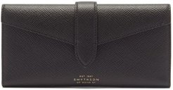 Panama Saffiano-leather Wallet - Mens - Black