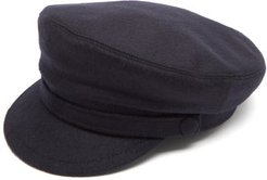 Captain Wool-felt Cap - Mens - Navy