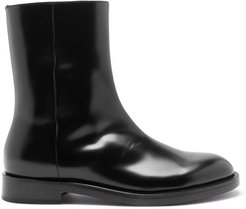 Leather Boots - Mens - Black