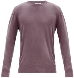 Palco Cashmere Sweater - Mens - Dark Pink