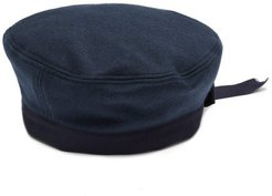 Felted Wool-blend Sailor Hat - Mens - Navy