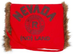 Nevada Faux Fur-lined Wool Muff - Mens - Red