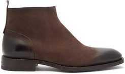 Scarlett Leather Ankle Boots - Mens - Dark Brown
