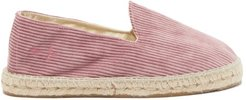 Tennessee Corduroy Espadrilles - Mens - Dusty Pink