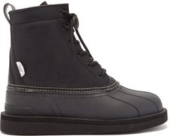 Alal High-top Faux-leather Boots - Womens - Black