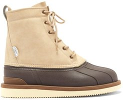 Alal High-top Faux-leather Boots - Womens - Beige Multi