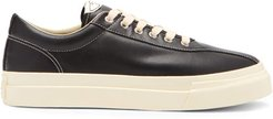 Dellow Leather Trainers - Mens - Black