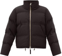 Panda Quilted-down Shell Jacket - Womens - Black