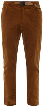 Nn Just Cotton-blend Corduroy Trousers - Mens - Beige
