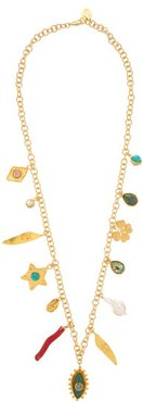 Lucky Charm Gold-plated Necklace - Womens - Gold
