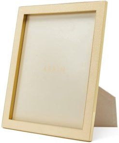 Shagreen-faced Brass Picture Frame - Ivory
