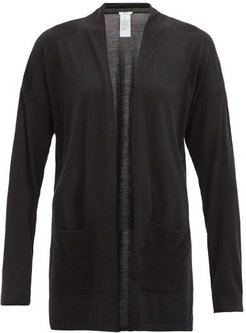 Montana Merino-wool Cardigan - Womens - Black