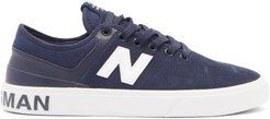 Numeric 379 Suede Trainers - Mens - Navy