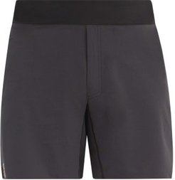 Panelled Mesh And Technical-jersey Running Shorts - Mens - Black