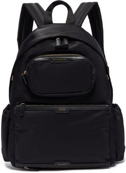 Cycling Recycled-canvas Backpack - Womens - Black Multi