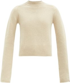 No. 152 Cherie High-neck Stretch-cashmere Sweater - Womens - Ivory