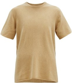 No. 64 Oversized Stretch-cashmere T-shirt - Womens - Camel