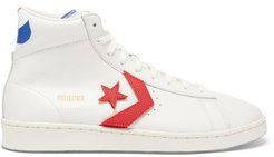 Pro Leather High-top Leather Trainers - Mens - White Multi