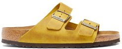 Arizona Oiled-leather Sandals - Mens - Yellow Gold