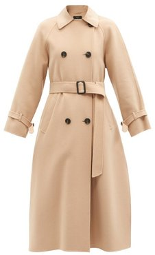 Potente Trench Coat - Womens - Camel