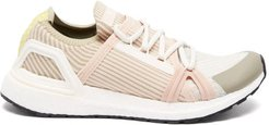 Ultraboost 20 Stretch-knit Running Trainers - Womens - Pink Multi
